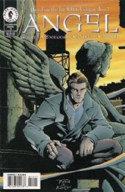 Angel #14 Art Cover (1999) Dark Horse comic book